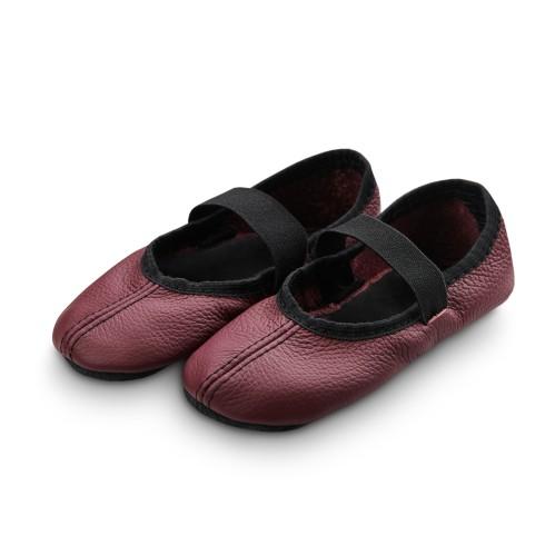 Dance slippers (bordeaux)