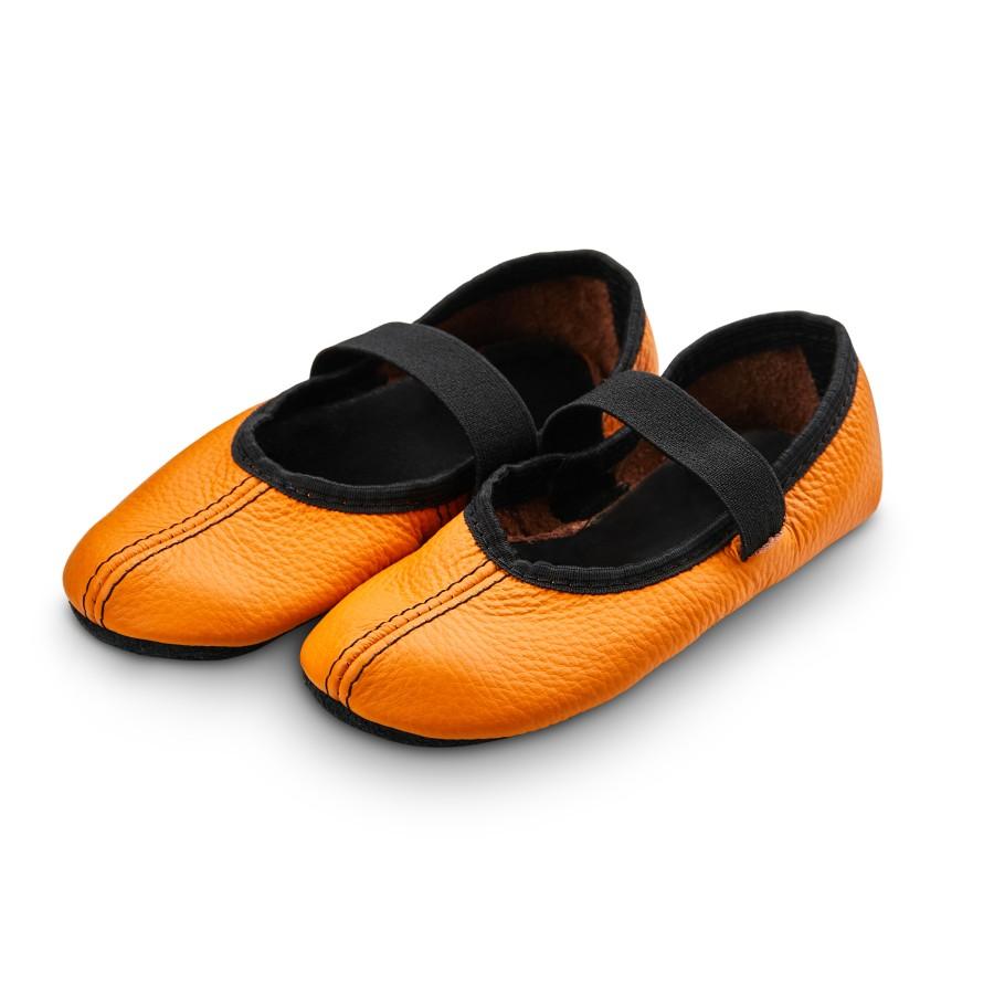 Šokių tapkutės, oranžinės spalvos