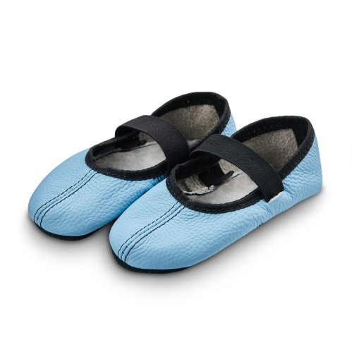 Dance slippers (light blue)