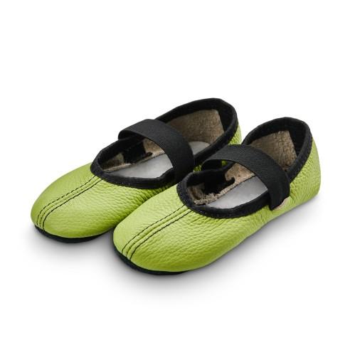 Dance slippers (light green)