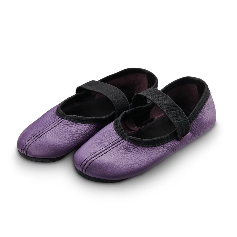 Šokių tapkutės, violetinės spalvos